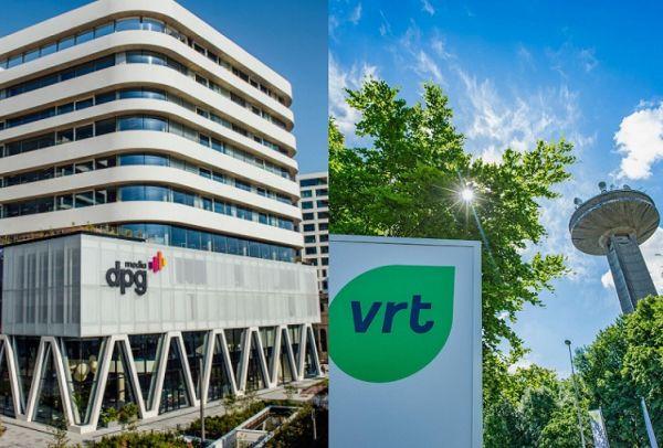VRT en DPGMedia gebouw