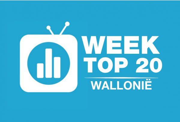 TVVlogo kijkcijfers week Wallonie logo