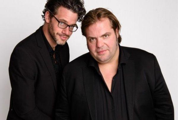 Frank Evenblij en Erik Dijkstra (foto: BNNVARA - © Annemieke van der Togt 2021)