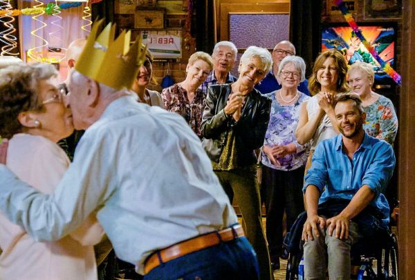 TVV Familie 2021 95ste verjaardag van Albert
