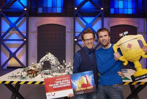 Thomas en Roy winnen finale 'LEGO MASTERS 2021' (RTL 4)