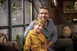 TVV Familie 2019 Roel met zoon Toots Vanderstukken in 'Familie' (foto: VTM - © DPG Media 2019)