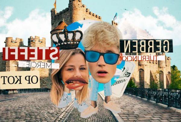 Gerben & Steffi op kot bij VTM GO