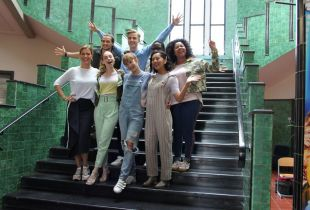 #LikeMe groep cast s2 (foto: TVvisie - © Nico De Freyn 2019)