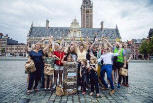 'Make Belgium Great Again' in Leuven (foto: VTM - © DPG Media 2019)
