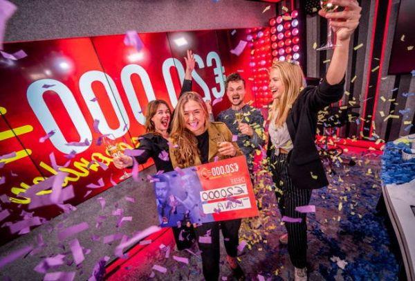 Luna wint 20.000 euro in 20 seconden