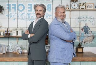 'Bake Off' - Wim Opbrouck en Jeroom