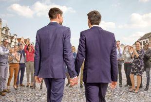 'Blind Getrouwd' - start (foto: VTM - © DPG Media 2020)