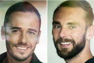 Christophe en Nick matchen in 'Blind Getrouwd' (foto: VTM - © DPG Media 2020)