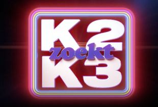 'K2 Zoekt K3' logo 2021 VTM SBS6