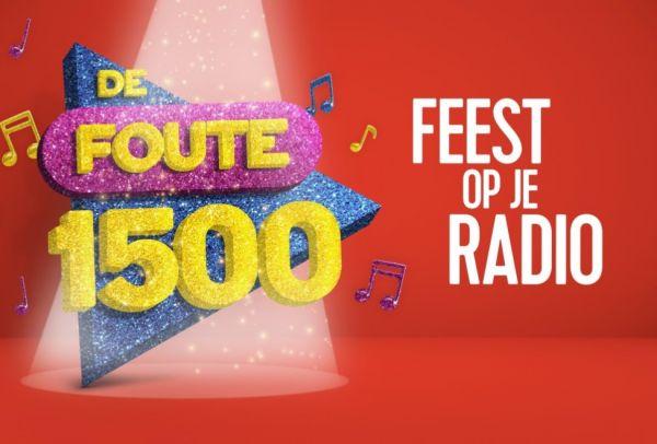 'De Foute 1500' op Qmusic (NL) (foto: © Qmusic 2020)